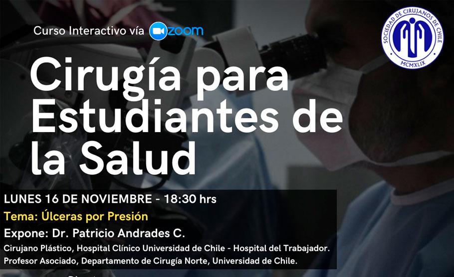 """""""Úlceras por presión"""" (Curso Cirugía para Estudiantes de la Salud)"""