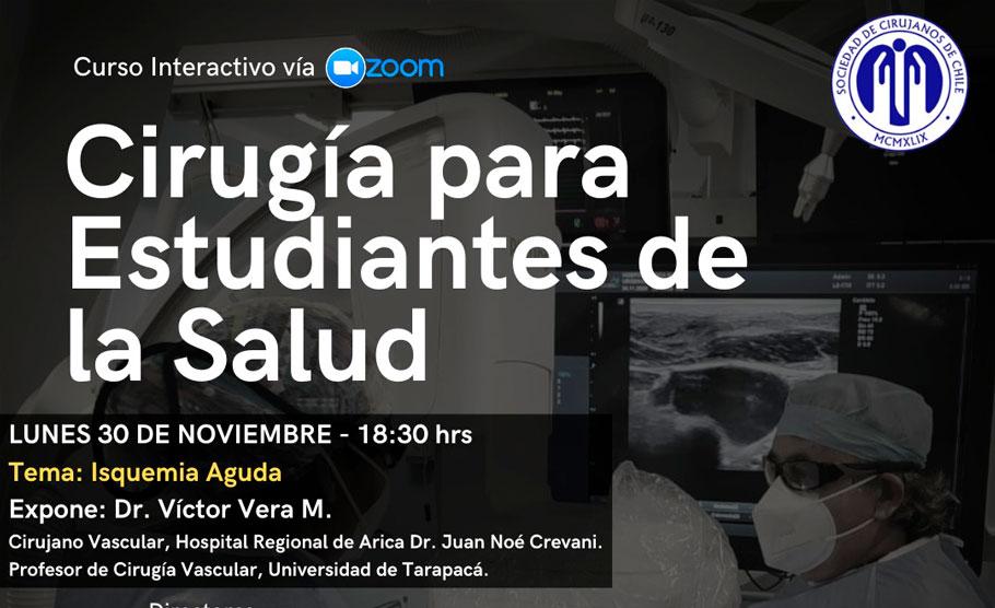 """""""Isquemia Aguda"""" (Curso Cirugía para Estudiantes de la Salud)"""
