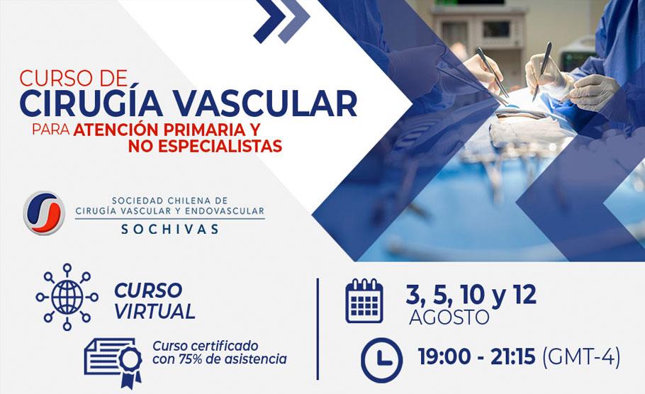 Curso de Cirugía Vascular para atención primaria y no especialista