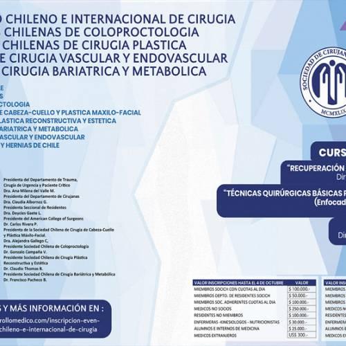 93º Congreso Chileno e Internacional de Cirugía