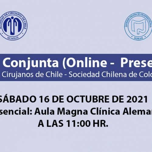 Sesión Conjunta (Online – Presencial)